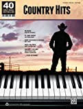 Country Hits: Piano/Vocal/Guitar (40 Sheet Music Bestsellers)