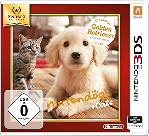 Nintendogs + cats Golden Retriever - Nintendo Selects [import