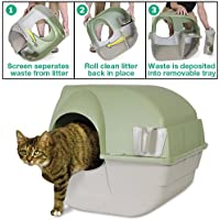 Katzentoilette - Selbstreinigende Rolltoilette klein