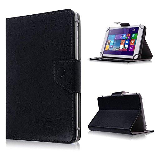 UC-Express Tasche für Odys Lux 10 Hülle Case Schutz Tablet Cover Schutzhülle Universal Bag, Farben:Schwarz