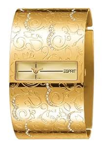 Esprit - ES101832005 - Magic Paradise Gold - Montre Femme - Quartz Analogique - Cadran Doré - Bracelet Acier Doré
