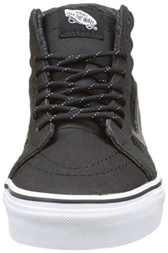 Vans Unisex-Erwachsene Sk8-Hi Reissue DX Hohe Sneakers Schwarz ((Transit Line) black/reflective)