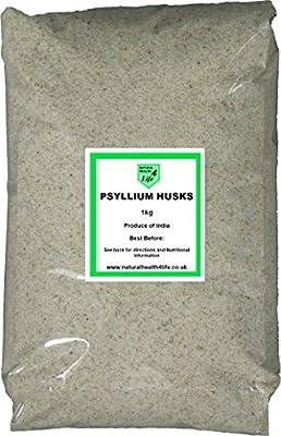 Psyllium Husks 1kg from The Happy Health Company