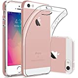 iPhone SE 5S 5 Hülle, FayTun iPhone SE 5S Schutzhülle Case Silikon- Crystal Clear Ultra Dünn Durchsichtige Backcover Handyhülle TPU Case für iPhone SE 5S 5 5C (Transparent)