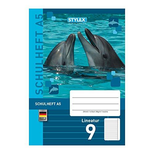 Stylex 29709 Schulheft DIN A5 mit Lineatur 9