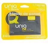 Uniq pull con tiras preservativo sin latex 3uds