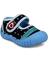 MYAU Kid's Boys Girls Fashionable Partywear Comfortable Cute Velcro Closure Casual Booties Shoes