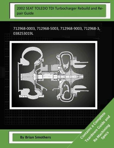 2002 SEAT TOLEDO TDI Turbocharger Rebuild and Repair Guide: 712968-0003, 712968-5003, 712968-9003, 712968-3, 038253019L