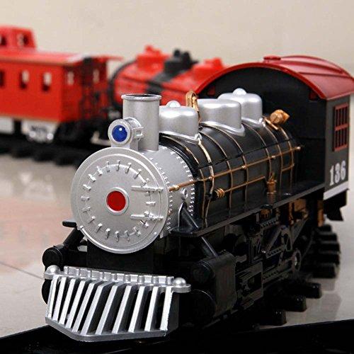 Tren de Juguete Conjunto Operado por Batería Tren Expreso con Luces y Sonido de Tren Kid's Set