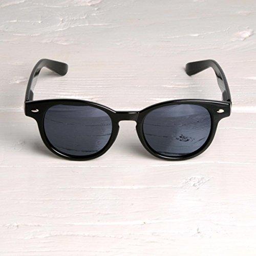 Freak Scene® Retro Sonnenbrille ° schwarz