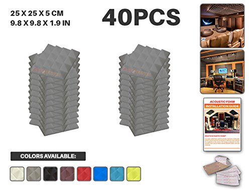 ace-punch-40-pack-gray-pyramid-acoustic-foam-panel-diy-design-studio-soundproofing-wall-tiles-sound-