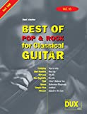 Best of Pop & Rock for Classical Guitar Solf. & Tab Vol.10
