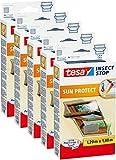 5 Stück tesa Fliegengitter für Dachfenster, mit Sonnenschutz, beste tesa Qualität, 1,2m x 1,4m