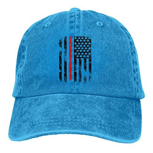 Oiup 089iuop D¨¹nnes Rot wir Kanada-Flagge L?ssige Unisex-Baseballm¨¹tzen Washed Cowboy Hat Adjustable Trucker Hat