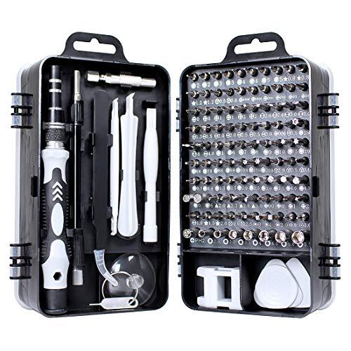 Gocheer 115 en 1 mini set tournevis precision kit tools petit boite tournevis torx informatique...