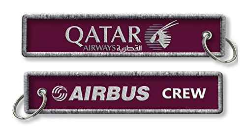 qatar-airways-airbus-equipage-porte-cles-x1