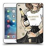 Head Case Designs Funkelndes Champagne Wein Fest Soft Gel Hülle für iPad Mini 4