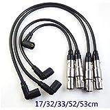 Juego de cables de bujía de encendido STD 27588 para Aveo Aveo 5 Lanos Swift wave