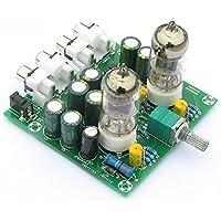 Lysignal Fever 6J1 Tube Amplificadores Tablero Preamplificador Preamplificador de auriculares Amplificador Audio Board Kits de bricolaje
