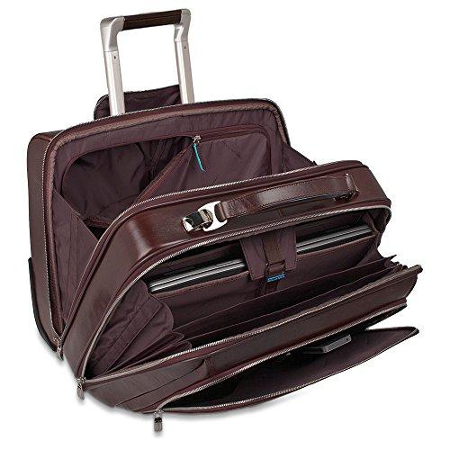 Piquadro  Organiseurs de sacs à main, 39 cm, 0 L, Noir Marron