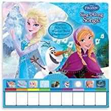 Disney Frozen Sing-along Piano Book by Disney