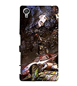 EagleHawk Designer 3D Printed Back Cover for Sony Xperia X - D975 :: Perfect Fit Designer Hard Case