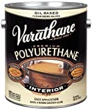Rust-Oleum VARATHANE Oil-Based Polyurethane for Interior Furniture & Wood Polish, 3.78 Liters, SEMI GLOSS Finish