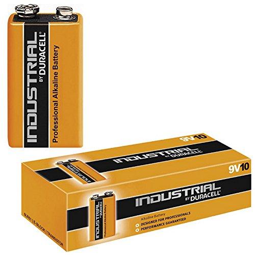 Batterie Alkali 6 LR 61 9V (Industrial), Duracell - Procell (MN 1604), 10 Stück Procell 9v-batterie