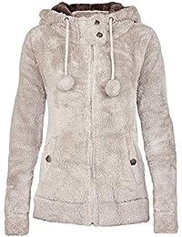 Urban Surface veste polaire teddy pour femme avec oreilles et capuche    sweat à capuche avec 62fce559fd80