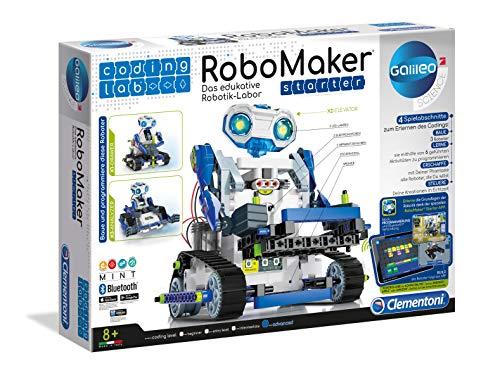 Clementoni 59122 RoboMaker Starter, Mehrfarben