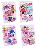 Produkt-Bild: Mattel - Polly Pocket K9311-0 - Coole Autos - Flotte Fahrerinnen Sortiment