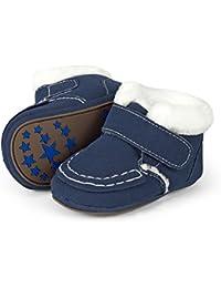 Sterntaler Baby-Schuh, Scarpine Primi Passi Unisex - Bimbi 0-24