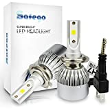 H7 LED Auto Scheinwerfer Birnen Kit - Safego LED...