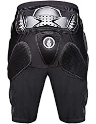 Pantalones de Protección Suplyss, Unisex Pantalones Protector Gear de Caderas Piernas, Padded Shorts Deportes para Motocicleta Motocross Patinaje Hockey Esquí Snowboarding (XL)