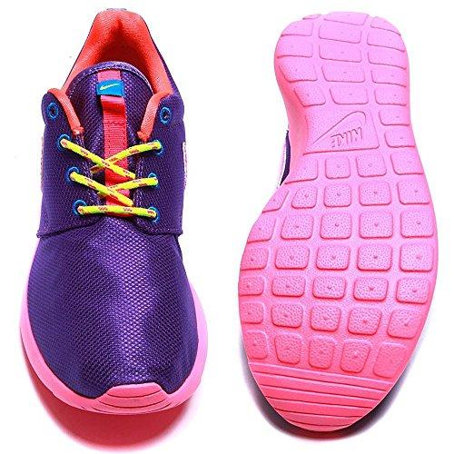 Nike Rosherun Violet Youths Trainers 599729 502 Violett