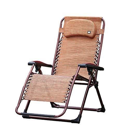 Fdd sedia da giardino reclinabile pieghevole da giardino con lettino prendisole con cuscino reclinabile regolabile in altezza