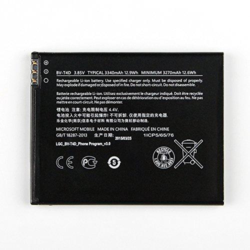 Batteria originale Li-Ion BV-T4D 3340mAh per Microsoft Lumia 950 XL e Lumia 950 XL Dual Sim