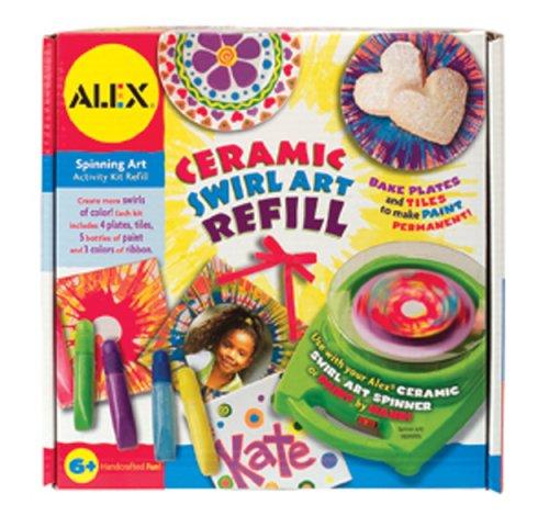 Refill Alex Toys (Alex Toys My Spinner Keramik Art Refill)