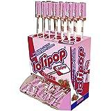 Fiesta Lolipop Fesa - Caramelo masticable con palo, 100 unidades