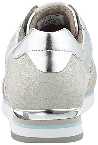 Gabor Fashion, Sneakers Basses Femme Gris (argento/ice aqua)
