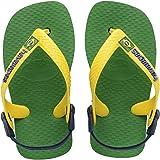 Havaianas Baby Brasil Logo, Unisex Baby Flip Flops, Green (Green 2703), 8/9 Child UK (25/26 BR) (27/28 EU) Bild