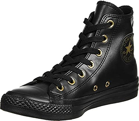 Converse All Star Hi W chaussures 8,0 black/gold