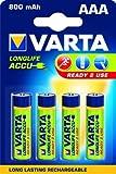 Varta Micro Rechargeable Energy Akku 750 mAh Ni-MH 4er Pack