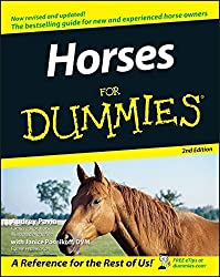 Horses For Dummies by Audrey Pavia (2005-09-30)
