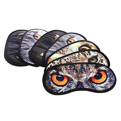 Dairyshop Mignon animal regarde le masque pour les yeux couvre les yeux bandes pour se détendre au sommeil