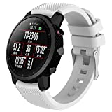 Gaddrt Bande pour HUAMI Amazfit Stratos Smart Watch 2, Soft silicagel Sports bracelet montre bande (Blanc)