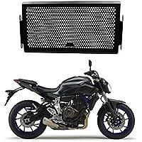 MT 07 Motocicleta Acero Inoxidable Cubierta de la Rejilla del Radiador para Yamaha MT07 2013 2014 2015 2016 2017 (Venta de Paquetes: Frente Parabrisas Cubierta 5% de Descuento)
