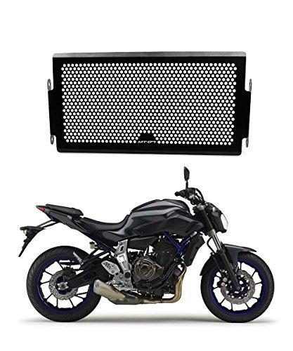 MT07 Motorrad Edelstahl Kühlerabdeckung Kühlerschutz Schutzgitter für Yamaha MT 07 2013 2014 2015 2016 2017 (Bündelverkauf: Windschutzscheibe Schutzhülle 6% Rabatt)