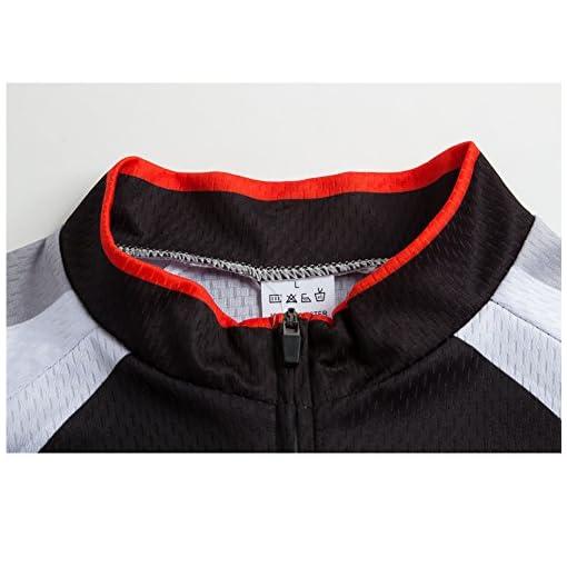 ZEROBIKE&Reg; Manica Corta Uomini Cycling Jersey Zip Jacket Ciclo Completo Shirt Traspirante Leggero e Comodo Mountain Bike Abbigliamento Top
