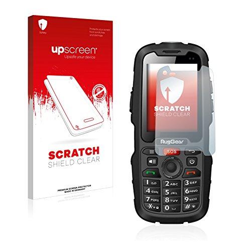 upscreen Scratch Shield Displayschutzfolie für RugGear RG310 Schutzfolie – Kristallklar, Kratzschutz, Anti-Fingerprint